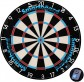 UNICORN  Enabled Smartboard Bristle Dartboard 79700
